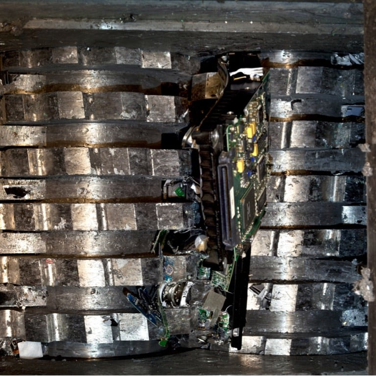 Hard drive Shredder/Crusher